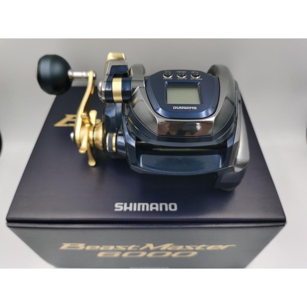 釣魚 日本SHIMANO 電動捲線器 BEAST MASTER BM6000 船釣 電捲 底棲 中深場