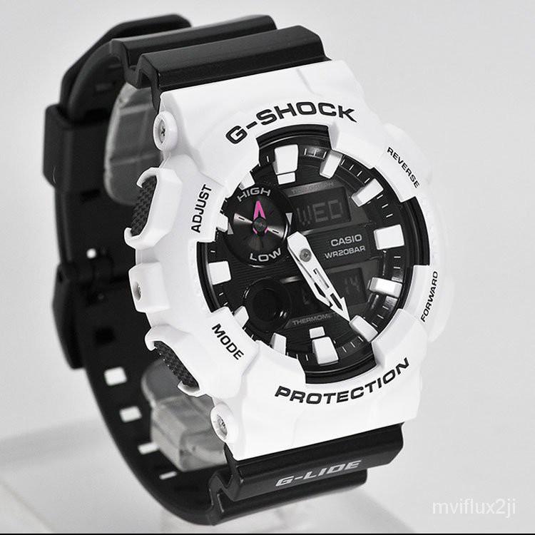 卡西歐手錶男G-SHOCK GAX-100B-7A/1A 100CSA-4A運動電子計時腕錶 dHMO