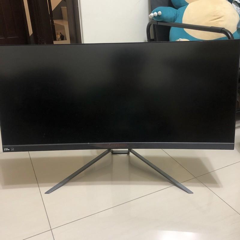 Acer X34 同Asus pg348q 34吋 34型 21:9 G-SYNC 2K 電競螢幕 電腦螢幕