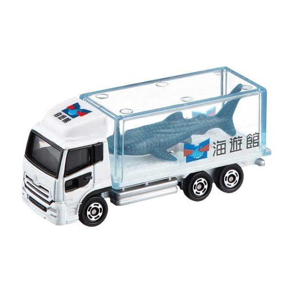 【TOMICA】多美小汽車 海游館鯊魚車 NO.69