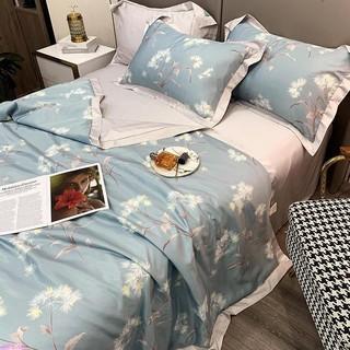 Dee Cat 夏季 冰絲 夏涼被 可水洗 空調被 四件套 天絲 冰涼 絲滑 雙人 床單 床上用品