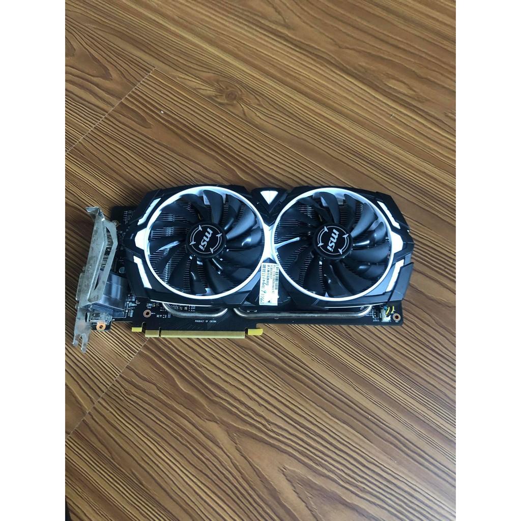 中古 二手 便宜賣( 保固內) MSI微星 GeForce GTX 1060 ARMOR 3G