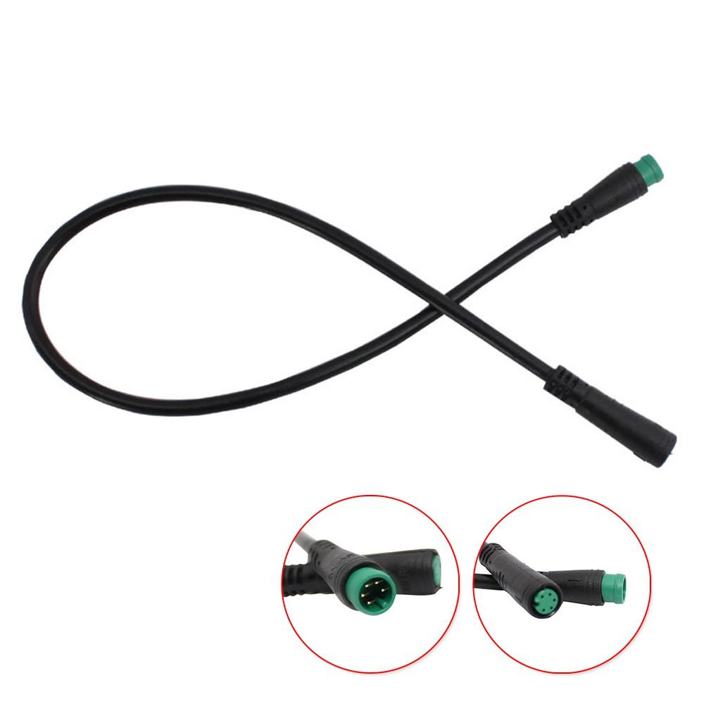 Bafang 中線的延長電纜 Abs 黑色電機 Lcd 顯示屏實用