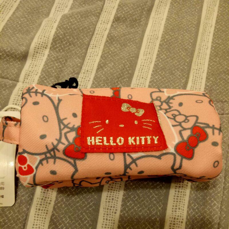 正版全新三麗鷗Hello Kitty 圓筒零錢包