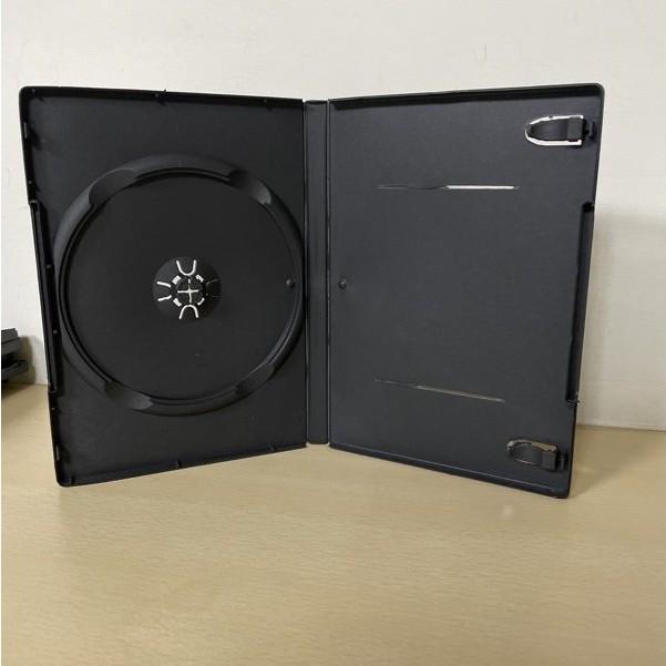 CD盒/DVD盒/光碟盒/CD殼/有膜 一入裝 光碟盒 收納盒 單片款 黑色 pp材質 可放封面 約8~9成新  口罩盒