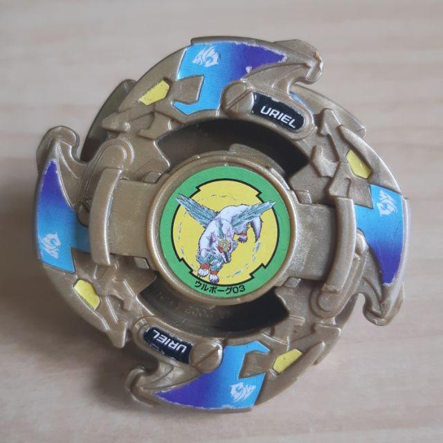 戰鬥陀螺 舊世代 極地銀狼3