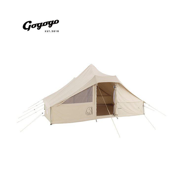 爆款#【野營】Utgard 13.2 Nordisk大白熊兩室雙門戶外野外露營防水帳篷|Gogogo熱賣