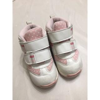 ASICS 亞瑟士 GD.Runner Baby Ct-Mid 3 粉色 點點 高筒 魔鬼氈 小童鞋 NO.R3893