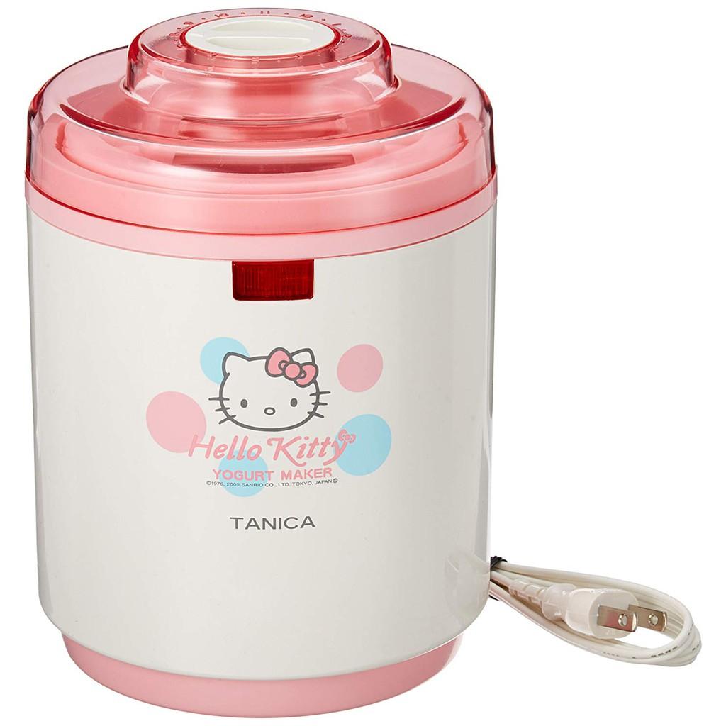 ☆松鼠家族日本代購☆ TANICA日本製 YM-800-KT凱蒂貓 Hello Kitty 優格機 優酪乳 發酵機 預購