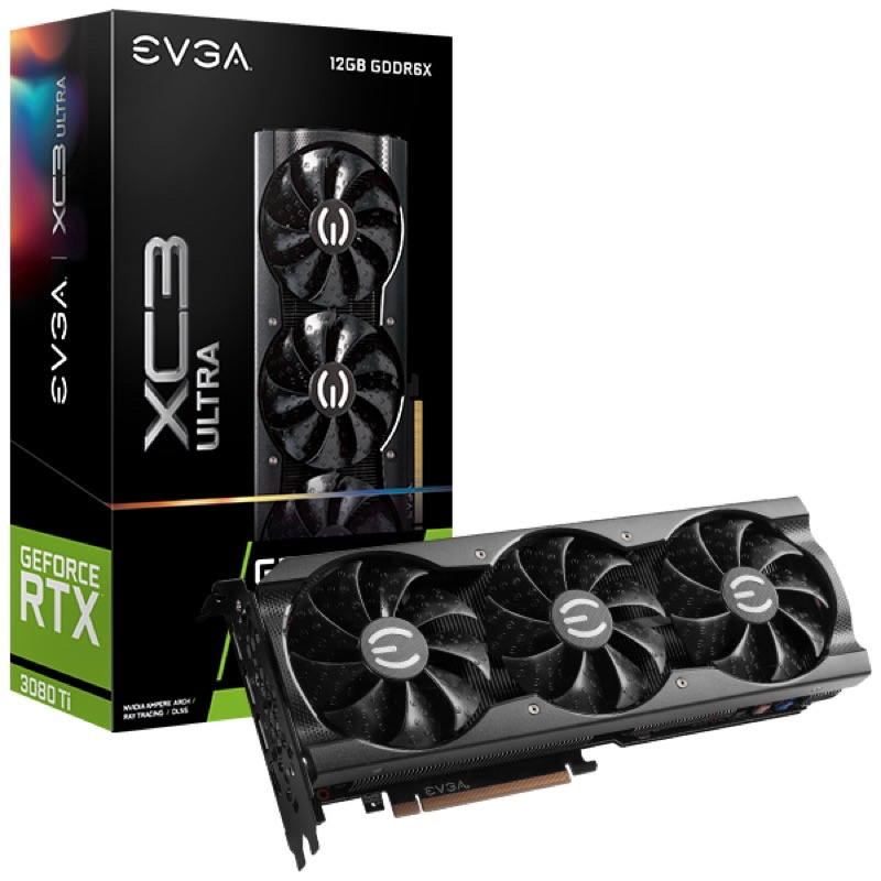 EVGA GeForce RTX 3070Ti 3080Ti