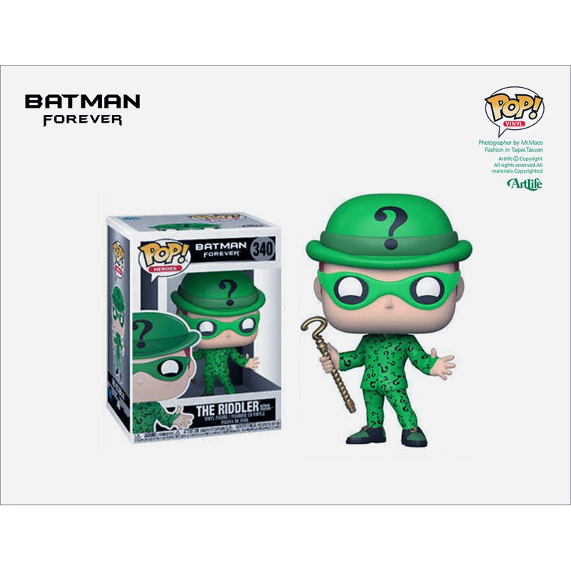 Artlife ㊁ FUNKO POP DC Batman Forever RIDDLER 猜謎先生