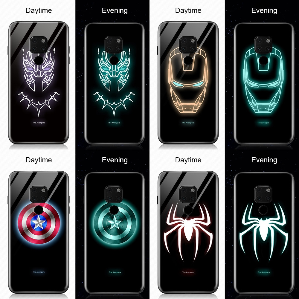 適用於華為 Nova 5t 5 Pro P20 Lite 2019 Nova 5i Luminous Avengers