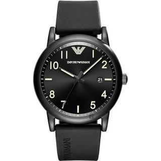 全新正品 EMPORIO ARMANI Sport AR11071 運動男錶 43MM 黑色 橡膠樹脂錶帶