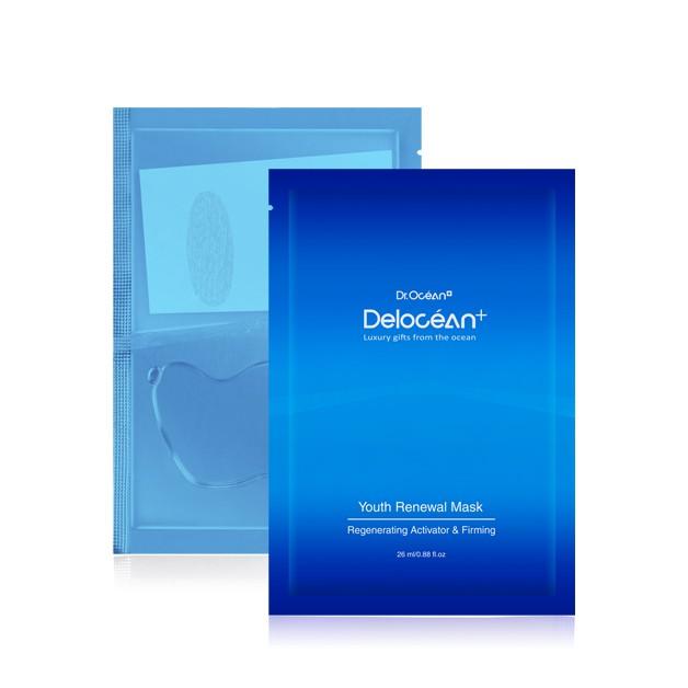 Delocean+海洋萃進階 逆時超導修復面膜10pcs
