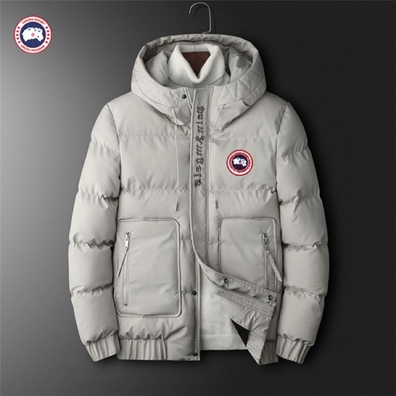 新款canada goose羽絨服 加拿大鵝牌羽絨外套 男士防寒保暖外套 工作外套 戶外運動外套 工裝外套 加厚保暖夾克
