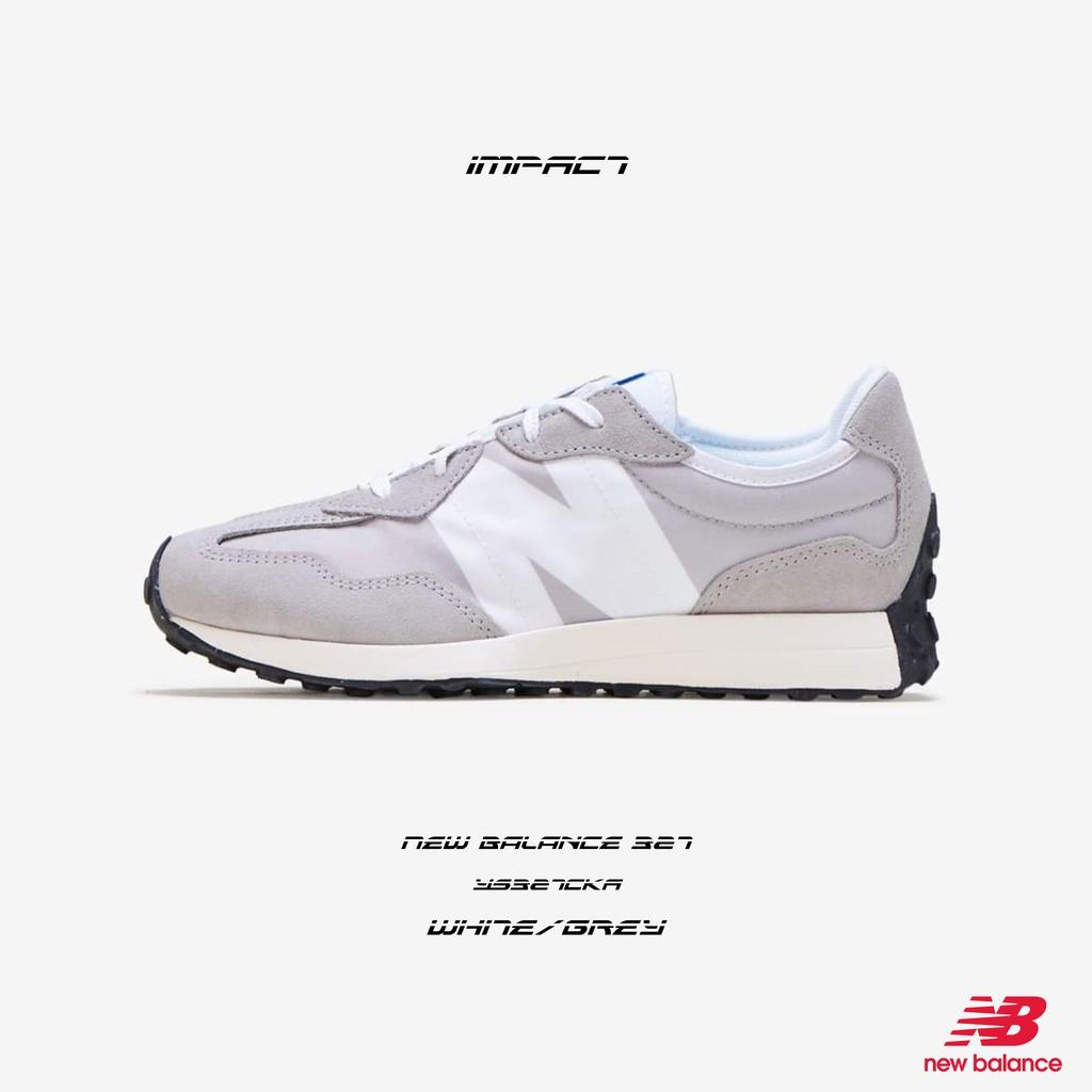 New Balance 327 復古 元祖灰 白灰 灰白 慢跑鞋 YS327CKA IMPACT