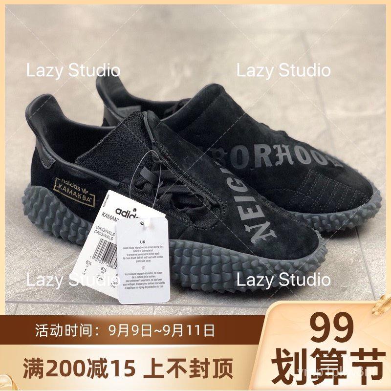 全新Adidas X Neighborhood KAMANDA聯名款男士休閒運動鞋B37341
