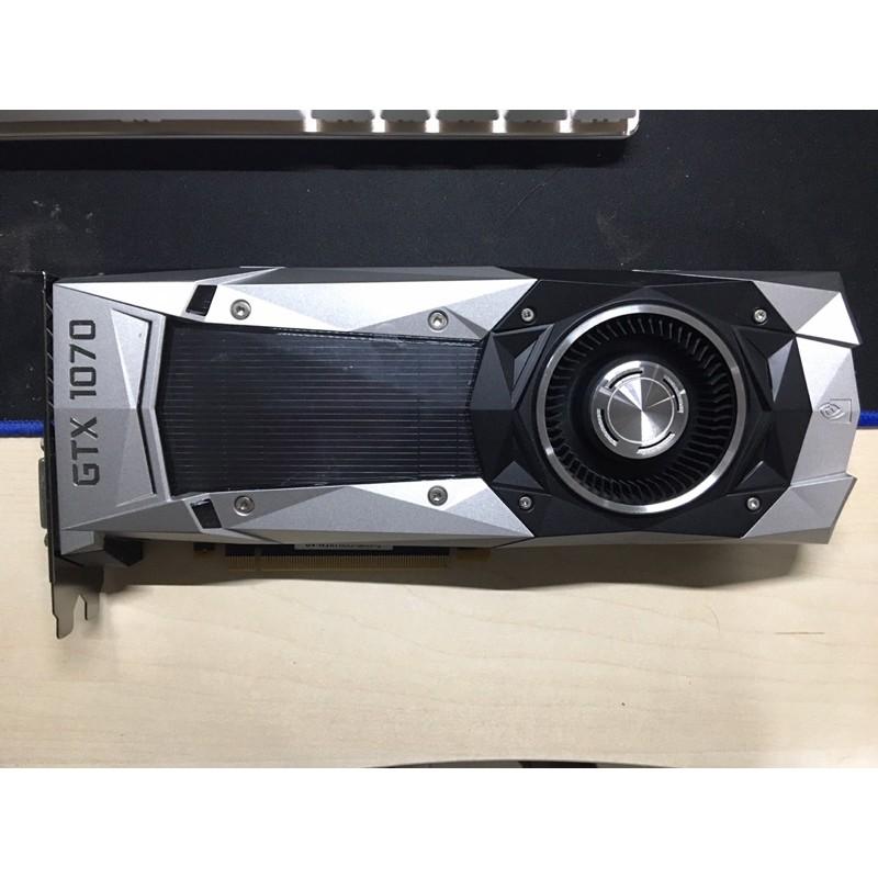 Nvidia 顯卡 gtx 1070 公版 創始版 8gb(1080 ti 1060 1660 2060 3060參考)