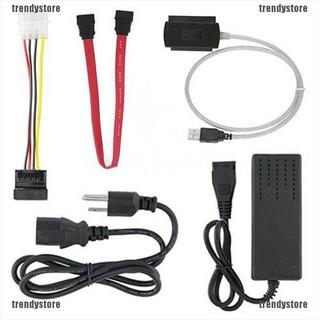 用於2.5 /  3.5英寸硬盤驅動器的Trendystore SATA /  PATA /  IDE到USB 2.0適配器轉