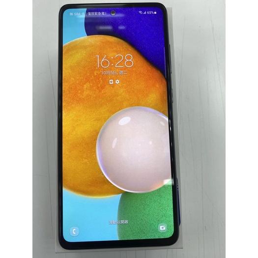 [珍珠3C] 二手機 2手機中古機 空機 三星 A52 5G 8G/256G 黑 9.9成新 尚有遠傳保固