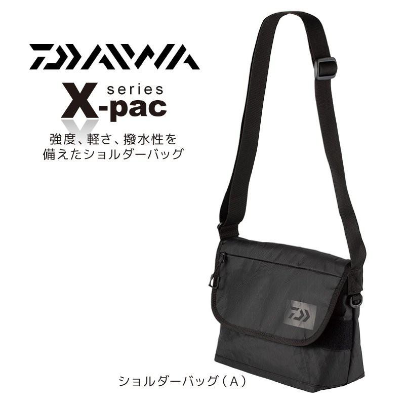 ☆桃園建利釣具☆DAIWA X-PACK 側背包 防水處理耐髒 2種尺寸