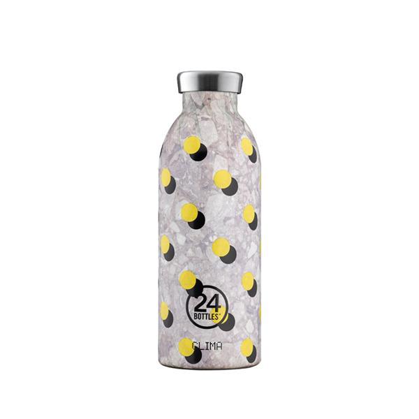 24Bottles不鏽鋼雙層保溫瓶/ 500ml/ 波卡黃 誠品eslite