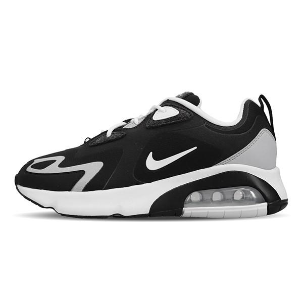 NIKE 【CQ4599-010】MAX 200 慢跑鞋 透氣網布 復古 氣墊 運動 黑白 男生尺寸
