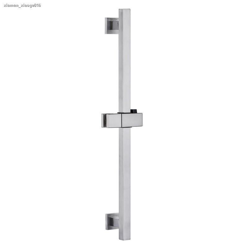 ┋❖❇[廠家現貨秒發]304不鏽鋼滑竿組 方形升降桿 浴室用 淋浴滑桿 淋浴滑竿 昇降桿 蓮蓬頭昇降桿 伸降桿 噴頭架滑
