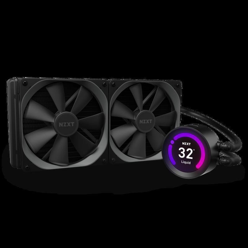 NZXT恩傑 Kraken Z63 水冷系統/280mm/RGB/ 水冷散熱器 /六年保固