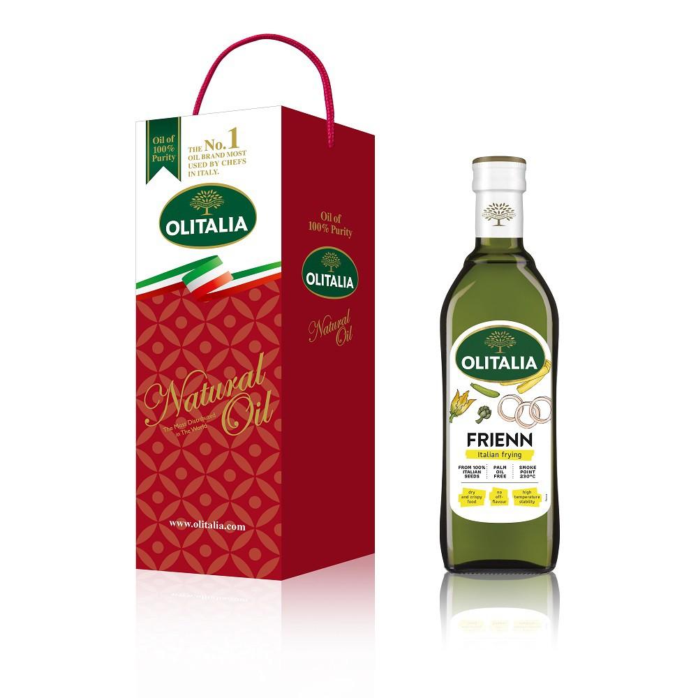 Olitalia 奧利塔高溫專用葵花油750毫升單入禮盒