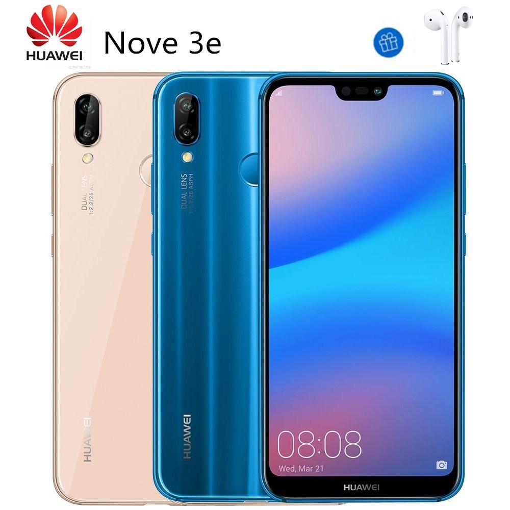 HUAWEI 華為 Nova 3e 5.8吋全面屏 (4G/64G) 國際版內建GSM 智慧型手機