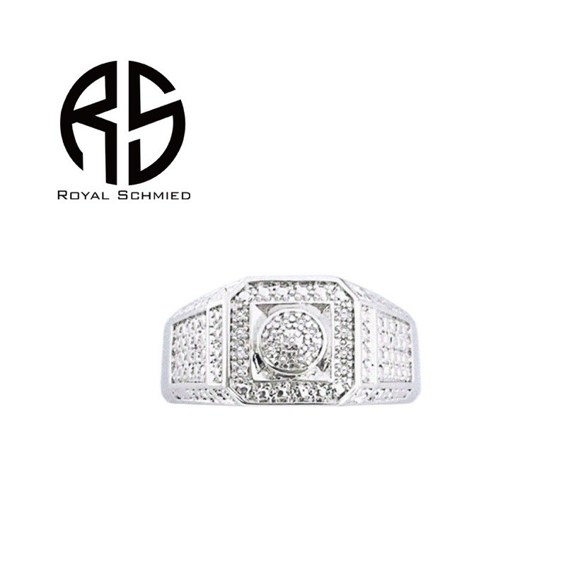 Royal Schmied-皇家鍛造真鑽戒指 男/女戒指 全新正品