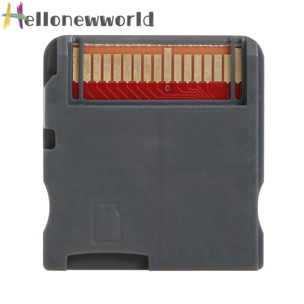 Hellonewworld R4 視頻遊戲存儲卡 3ds 遊戲抽卡支持