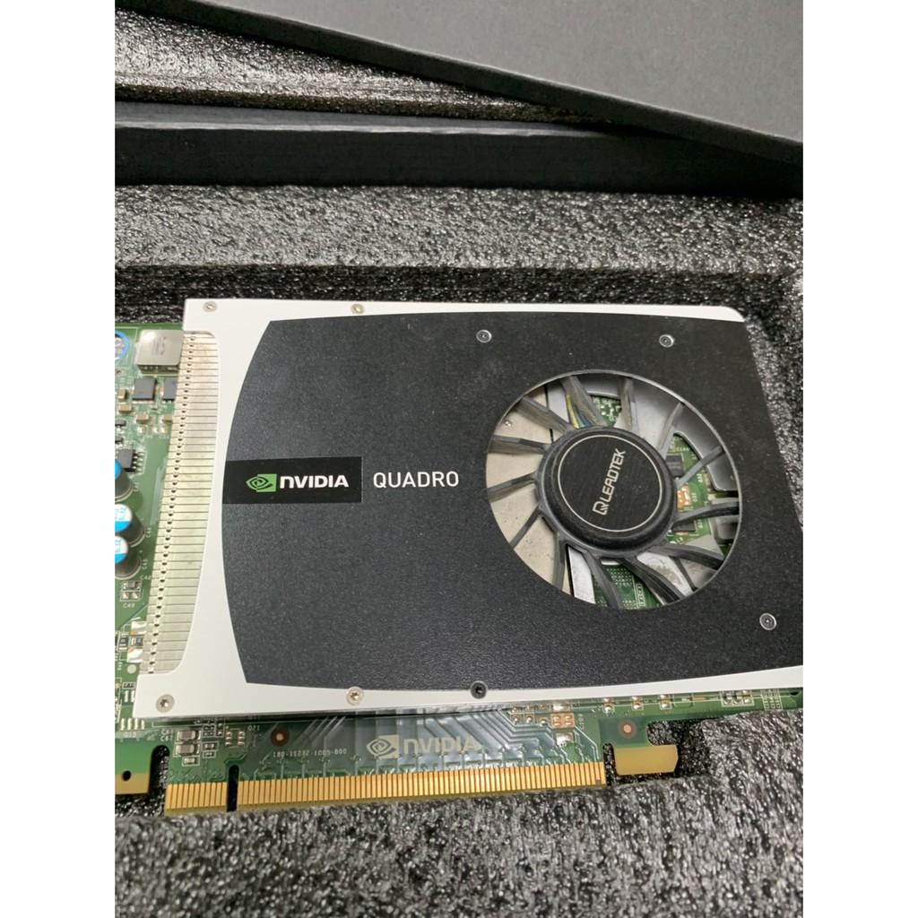 NVIDIA 專業繪圖卡QUADRO 2000 二手