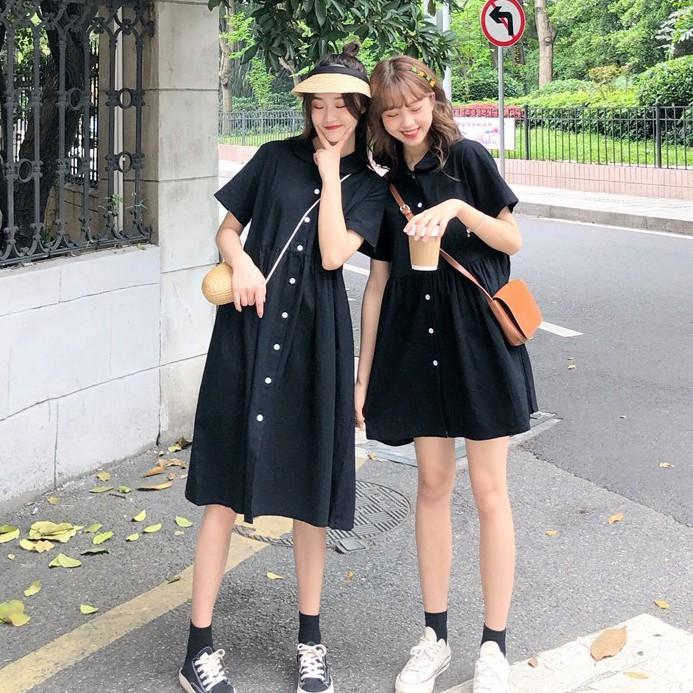 [下殺] 女生洋裝 時尚洋裝 短袖 洋裝 連身洋裝 短袖 連衣裙 韓妞必備 不一樣的閨蜜裝 裙子 韓版簡約連衣裙