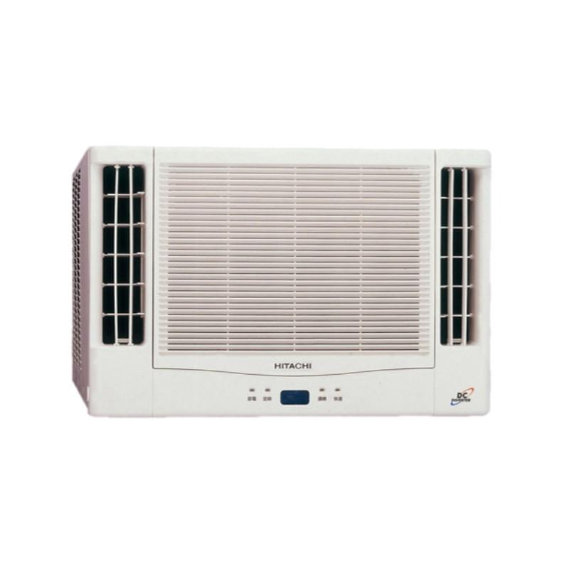 【來電詢價免運】Hitachi 日立 10-11坪 變頻 雙吹式窗型冷暖空調 RA-61NV