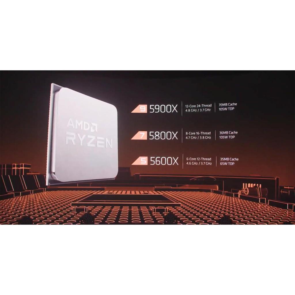 全新 盒裝 附發票 AMD RYZEN 5600X  5800X 5900X 5950X 系列 少量貨