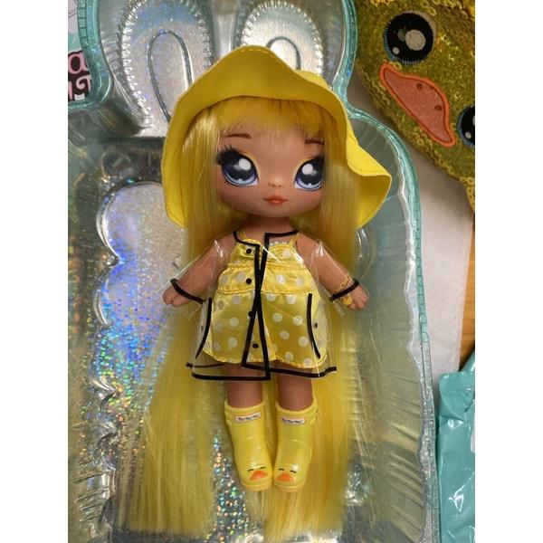 正版 Nanana Surprise 砰砰驚喜娃娃 美人魚 確認款黃色小鴨