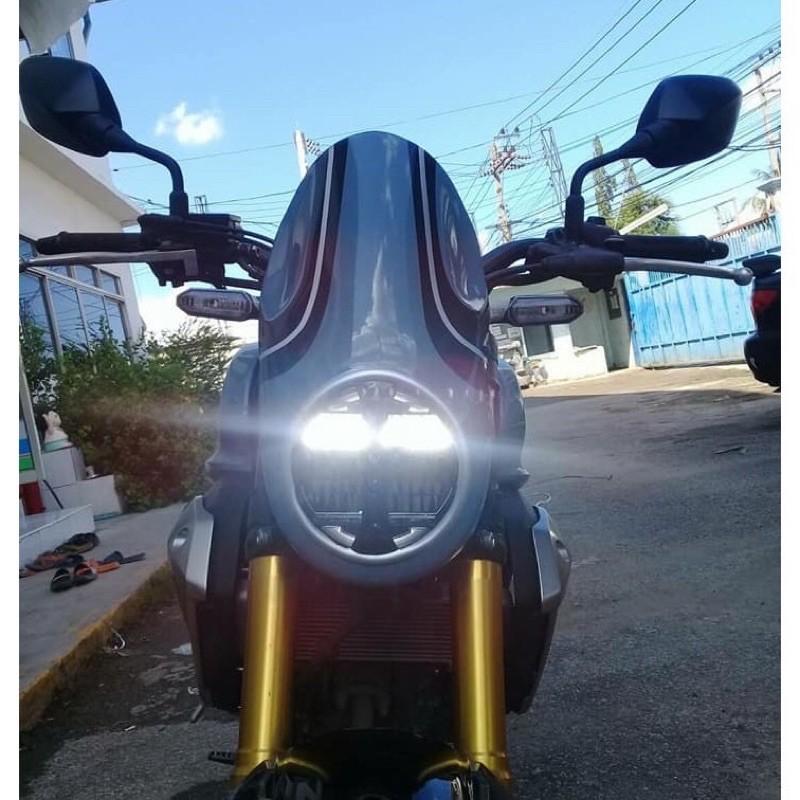 Moto橘皮 CB150R 子彈頭 風鏡 咖啡風 復古風 honda cb300r cb650r