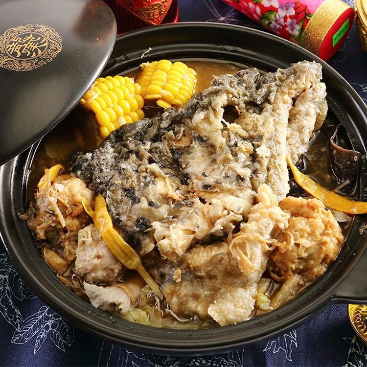【食肉鮮生】濃醇饒口砂鍋魚頭 4入免運組合