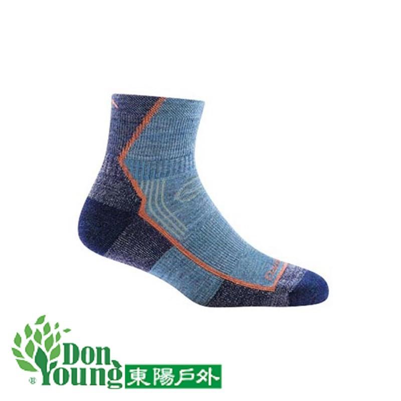 【美國DARN TOUGH 】85折2雙 終身保固保證 HIKER 1/4 女登山健行保暖羊毛襪 DT1958