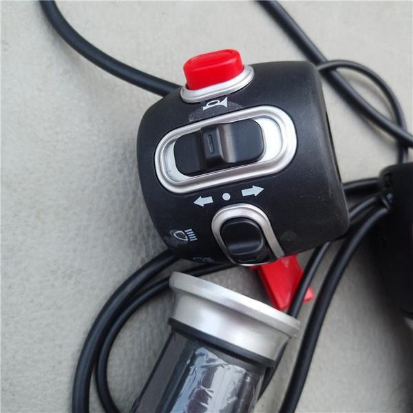 新品現貨:優質電動車開關 電動車改裝開關 電動車轉把 電動車把手套現貨發送