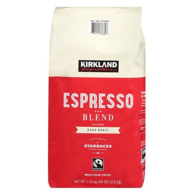 Kirkland Signature 科克蘭 義式深焙咖啡豆