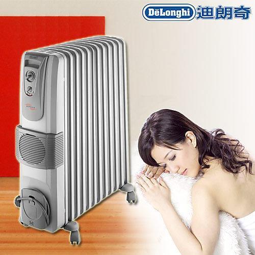 【全新含稅】Delonghi 迪朗奇 KR791215V 12葉片式熱對流電暖器 (非北方 聲寶