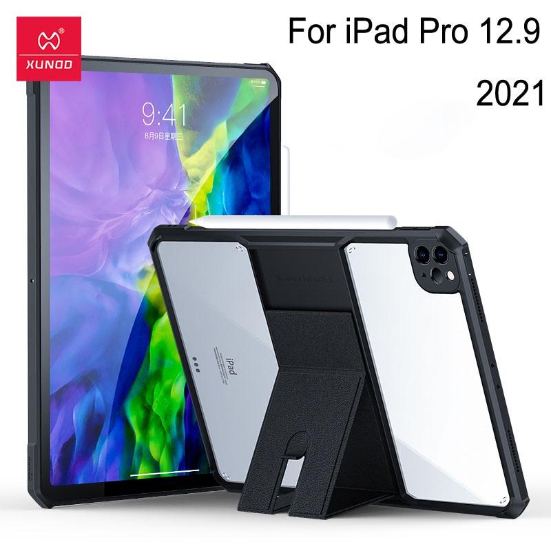 適用於 iPad Pro 12.9 2021 保護殼的 Xundd 保護平板電腦保護套 Holdheld 打字模式輕片保