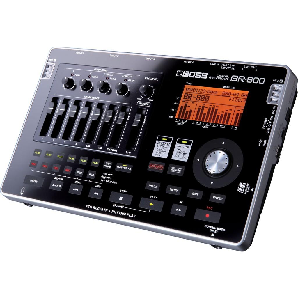 樂蘭Roland 多軌錄音機 BOSS BR-800 數位錄音座【小叮噹的店】