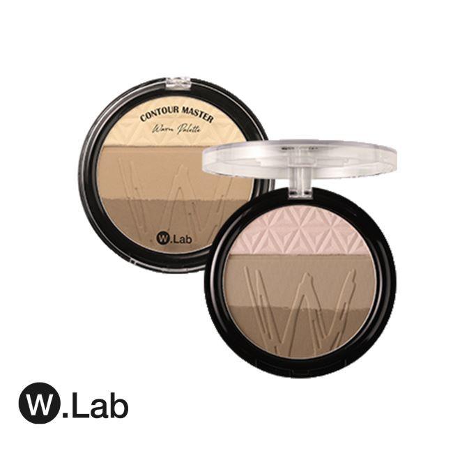 W.Lab 特調那提 雙色打亮修容盤