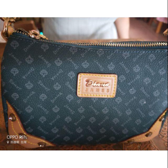 現貨可刷卡Diana Janes真皮小皮包 側背小包