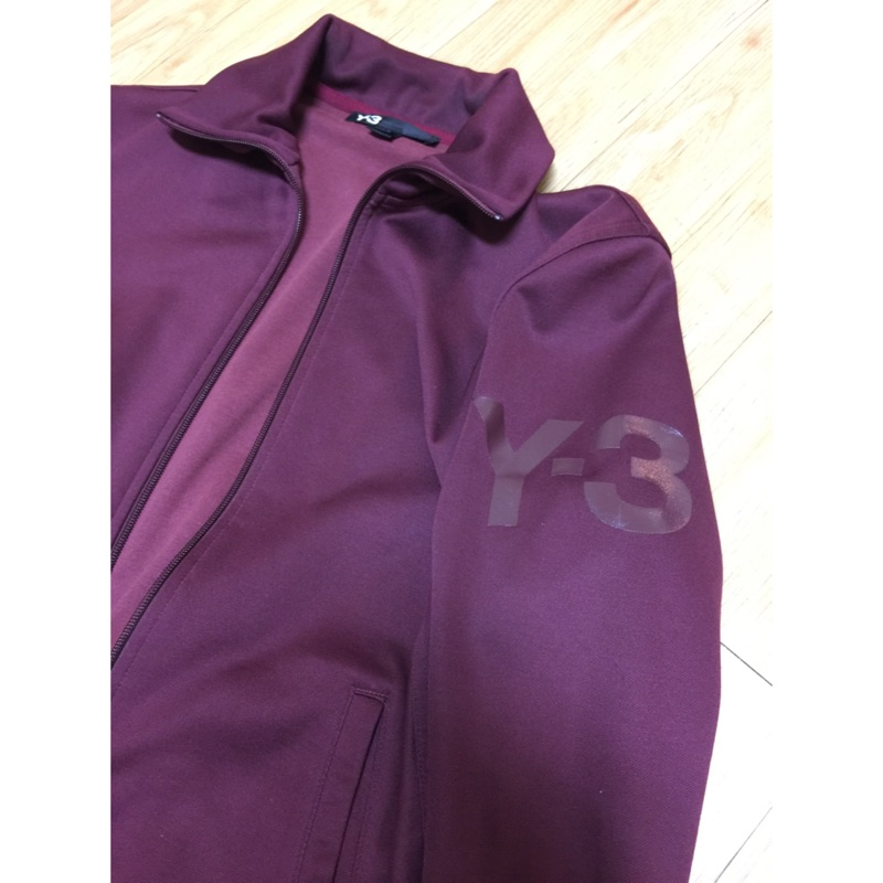 Y3酒紅色運動外套 7-8成新 保證正品(已售出)