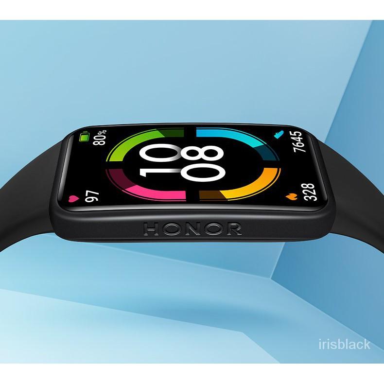 榮耀手環6 運動手錶5 智能NFC 多功能 藍牙跑步記錄 血氧監測計步心率 適用華為蘋果安卓